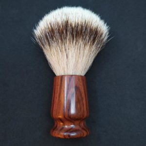 Blaireau silvertips bois de cocobolo 22mm