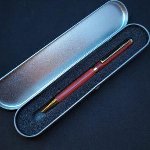 Boite stylo en aluminium