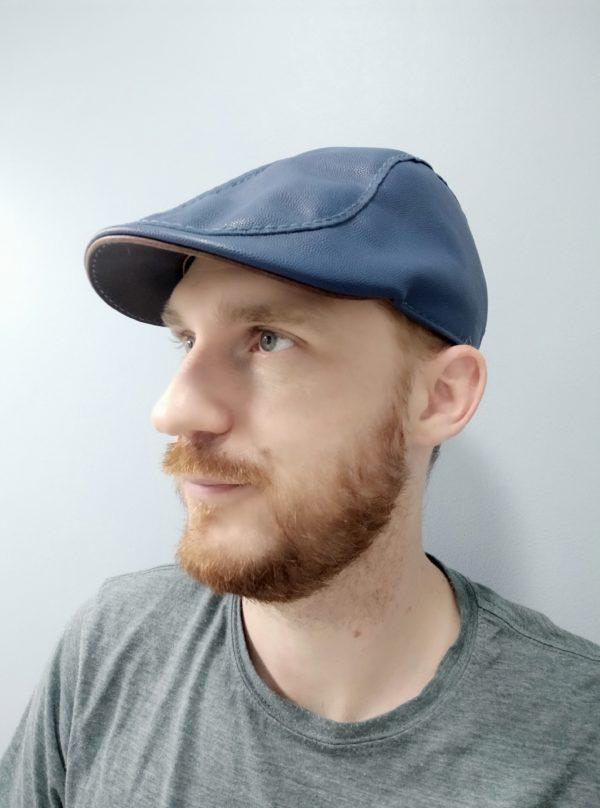 Flat Cap - casquette cuir - Look vintage - Peaky Blinders